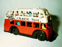 Cellulose acetate toy bus by Beeju Plastics