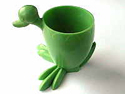 'Ugly Duckling' eggcup in CA by Permuta Plastics