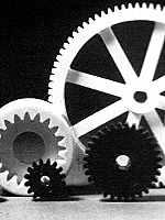 Nylon gear wheels 1983