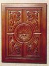Wood effect rigid pu panel