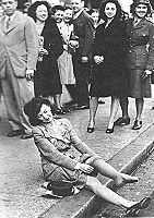 Nylon stockings 1945